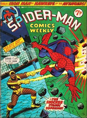Spider-Man Comics Weekly Vol 1 84