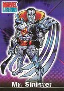 Nathanial Essex (Earth-616) from Marvel Legends (Trading Cards) 0001