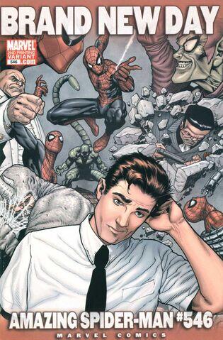 File:Amazing Spider-Man Vol 1 546 Second Printing Variant.jpg