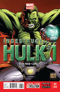 Indestructible Hulk Vol 1 1 Quesada Variant