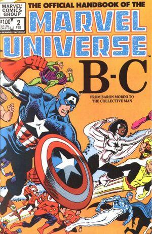 Official Handbook of the Marvel Universe Vol 1 2