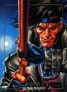 Remy LeBeau (Earth-616) from Marvel Masterpieces Trading Cards 1992 0001