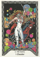 Alison Blaire and Peter Parker (Earth-616) Spider-Man Team-Up (Trading Cards) 0001
