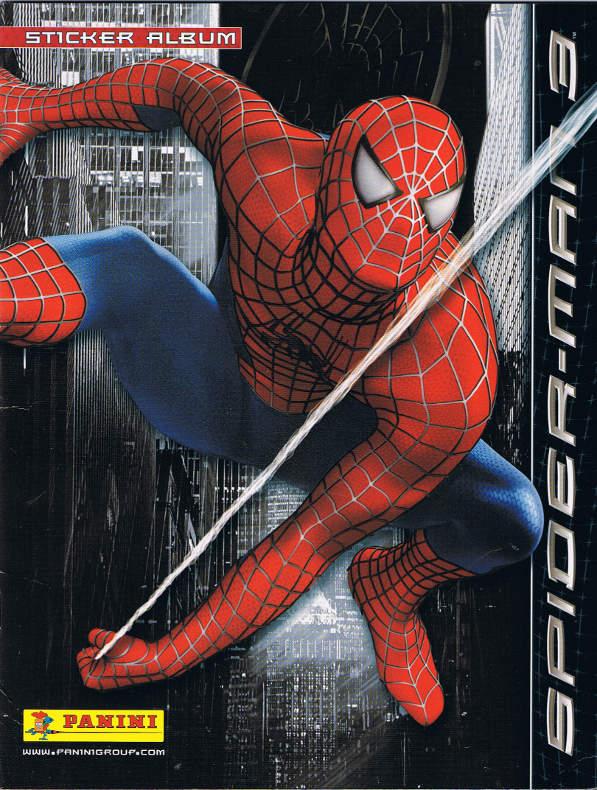 Spider Man 3 Sticker Album Vol 1 1 Marvel Database