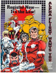 Super-Powers Registration Act from Alpha Flight Vol 1 120 001