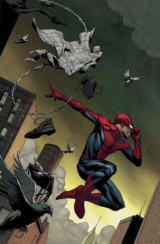 File:Amazing Spider-Man Vol 3 1 Opeña Variant Textless.jpg