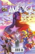 Captain America Vol 7 22 Marvel Comics 75th Anniversary Variant