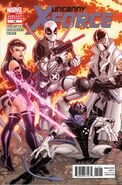Uncanny X-Force Vol 1 19 Variant Bradshaw