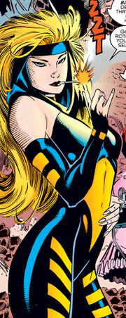 Alison Blaire (Earth-295) from Amazing X-Men Vol 1 1 0002