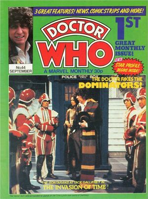 Doctor Who Monthly Vol 1 44