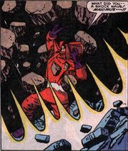 Kadlec (Earth-616) killed by Gorgon in Inhumans Special Vol 1 1