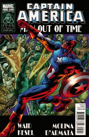 Captain America Man Out of Time Vol 1 5