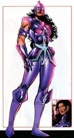 Zarda Shelton (Earth-712) from All-New Official Handbook of the Marvel Universe Update Vol 1 3 0001
