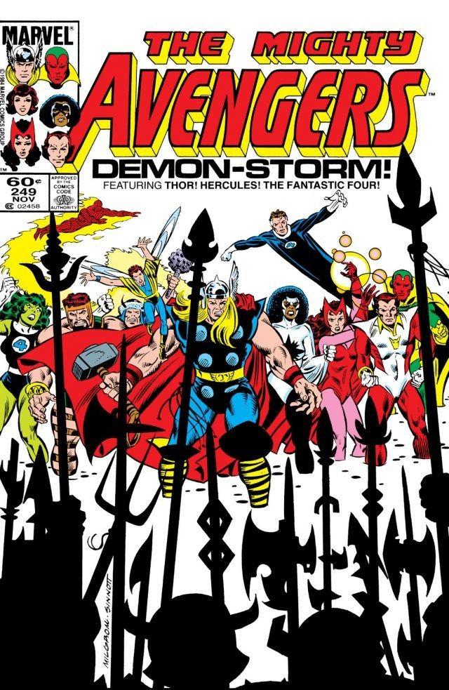 Avengers #249
