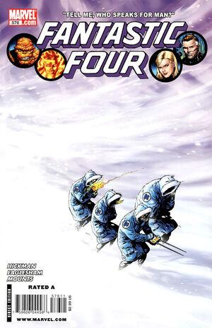 Fantastic Four Vol 1 576