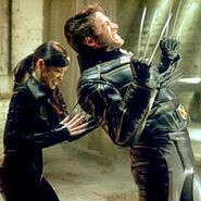 James Howlett (Earth-10005) and Yuriko Oyama (Earth-10005) from X2 (film) 0001