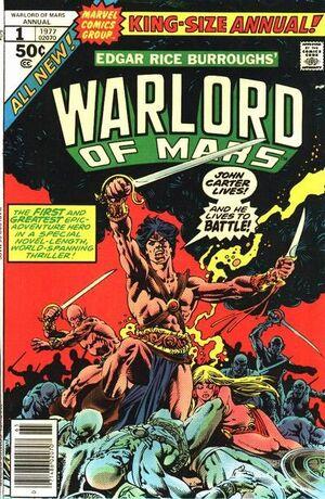 John Carter Warlord of Mars Annual Vol 1 1