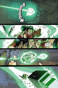 Julian Keller (Earth-616) and Laura Kinney (Earth-616) from New X-Men Vol 2 31 0001