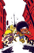 Power Man and Iron Fist Vol 3 1 Young Variant Textless