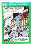 Spider-Man Presents Doctor Octopus from Marvel Universe Cards Series I 0001