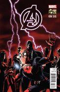 Avengers Vol 5 36 Deadpool 75th Anniversary Variant