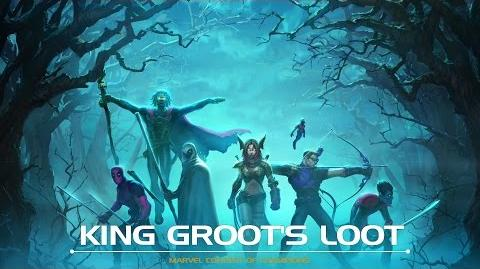 King Groot's Loot Motion Comic Marvel Contest of Champions