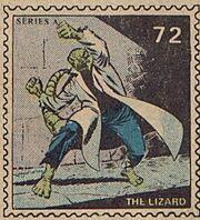 Lizard Marvel Value Stamp