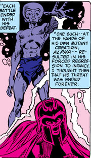 Alpha, Max Eisenhardt (Earth-616) from Uncanny X-Men Vol 1 149