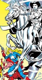 Banshee (Phantom Rider's Horse) (Earth-616) from West Coast Avengers Vol 2 8 0001