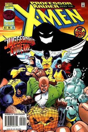 Professor Xavier and the X-Men Vol 1 12