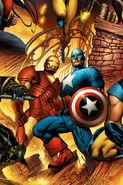 New Avengers Vol 1 6 Textless Variant
