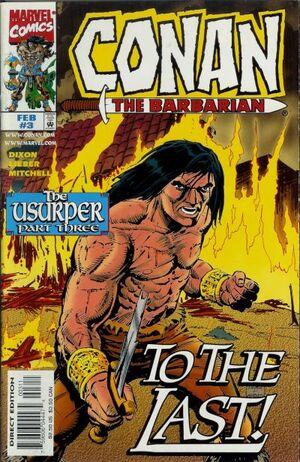 Conan the Barbarian The Usurper Vol 1 3