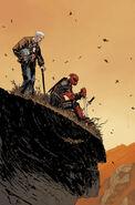 Death of Wolverine Deadpool & Captain America Vol 1 1 Shalvey Variant Textless
