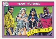 Hellfire Club (Earth-616) from Marvel Universe Cards Series I 0001