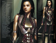 Thor Concept Art - Sif 001
