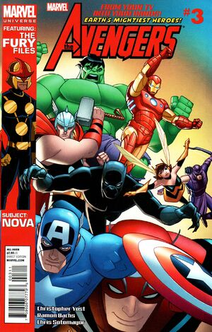 Marvel Universe Avengers - Earth's Mightiest Heroes Vol 1 3