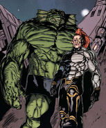 Ch'od (Earth-616) and Raza Longknife (Earth-616) from Realm of Kings Imperial Guard Vol 1 1 0001