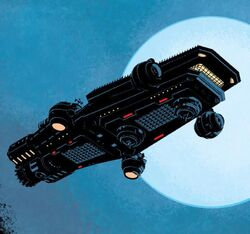 S.H.I.E.L.D. Helicarrier from Secret Avengers Vol 2 15