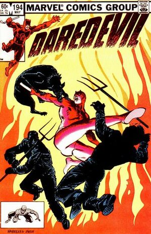 Daredevil Vol 1 194