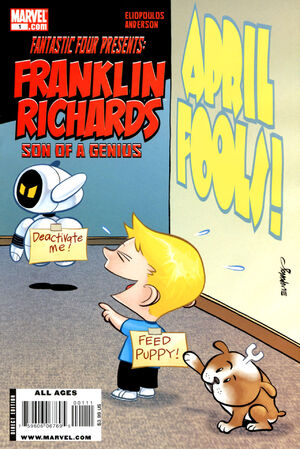 Franklin Richards April Fools Vol 1 1