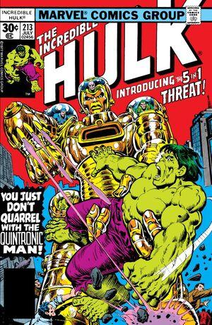 Incredible Hulk Vol 1 213