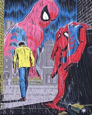 File:Spider-Man No More John Romita Sr. Original Art.jpg