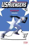 U.S.Avengers Vol 1 1 Virginia Variant