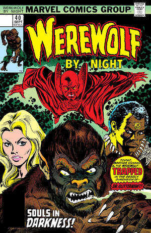 Werewolf by Night Vol 1 40