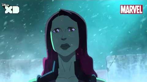 Guardians of The Galaxy Gamora Part 1 Official Disney XD UK