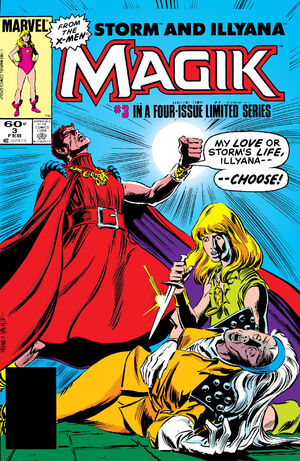 Magik (Illyana and Storm Limited Series) Vol 1 3
