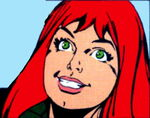 Mary Jane Watson (Earth-77013) from Spider-Man Newspaper Strips Vol 1 1987