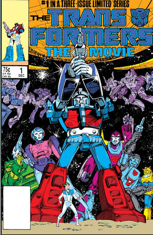 Transformers The Movie Vol 1 1