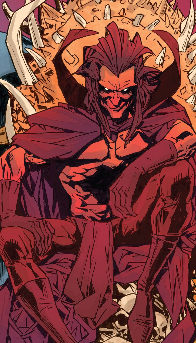 Mephisto marvel demon form