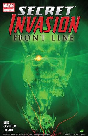 Secret Invasion Front Line Vol 1 1
